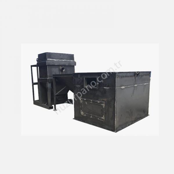 Metall maskin chassis